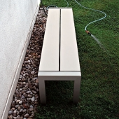 Sushi Outdoor Bench