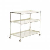 Trays Small Three-Shelf Bookcase