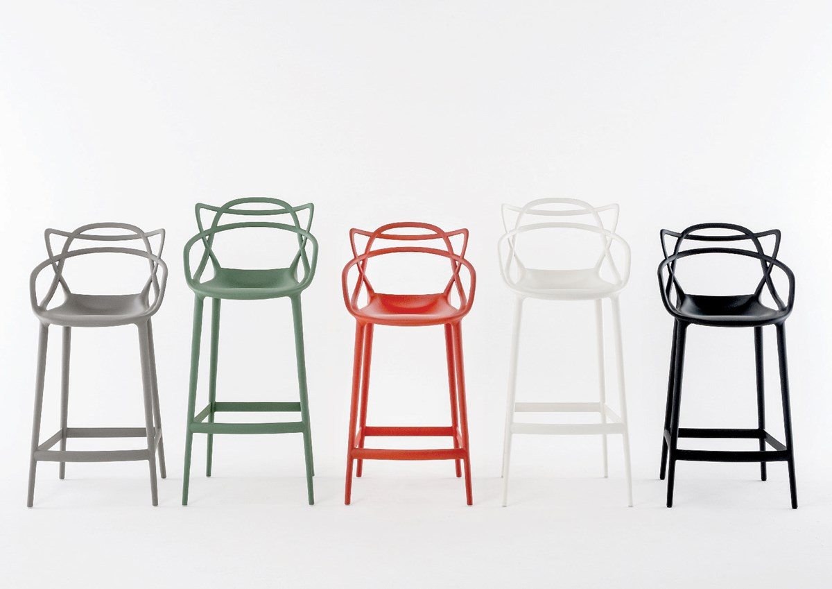Kartell Masters Stool By Philippe Starck Bar Stool