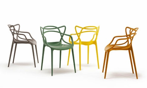 Masters chair designed by philippe starck kartell - Chaises kartell masters ...